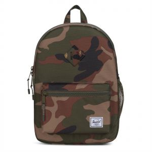 f7563fd8272 Herschel 10312-01609-OS Heritage Youth Casual Daypacks Backpack for Kids -  Woodland Camo