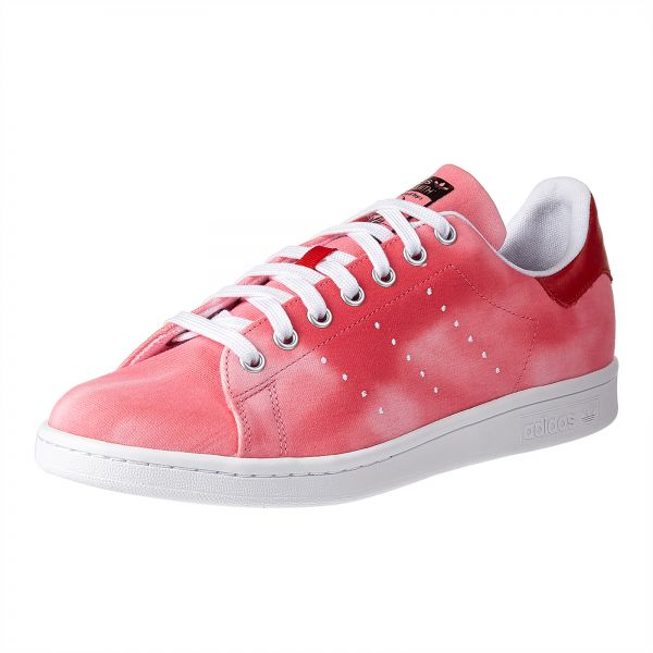 91ef6d56d5ba3 adidas Originals Pharell Williams PW HU Holi 1 Sneaker for Men - White    Red. by adidas