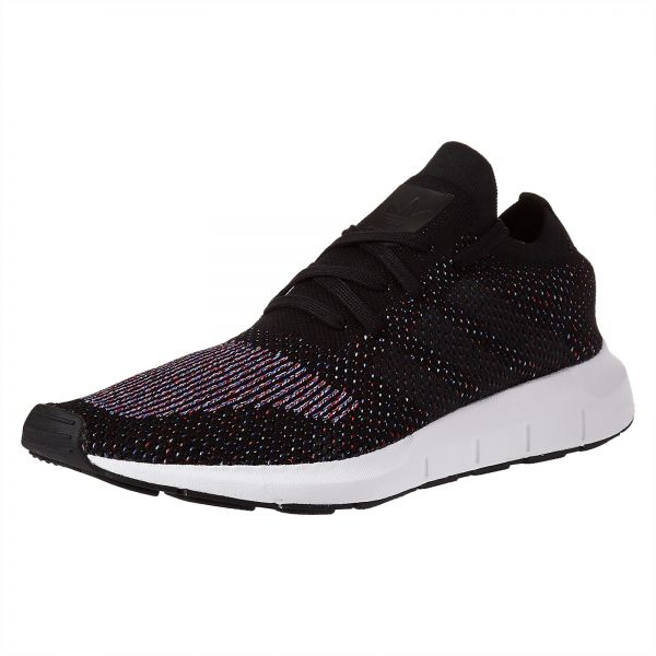 best service 61da0 f6e8b adidas Originals Swift Prime Knit Running Shoes for Men - Core Black    Medium Grey. by adidas, Athletic Shoes -. 58 % off
