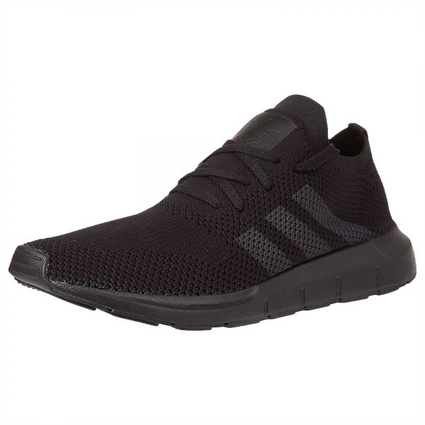 6280524d1 adidas Originals Swift Prime Knit Running Shoes for Men - Core Black   Grey  Five
