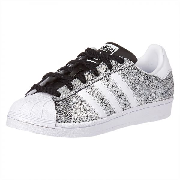 new arrival 34644 da14b adidas Originals Superstar Sneaker for Women - White  Core Black. by adidas,  Athletic Shoes - 1 review. 25 % off