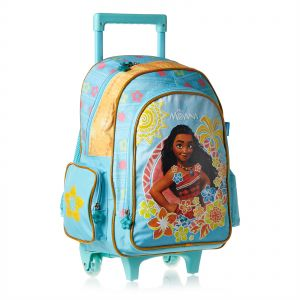 Disney Moana School Trolley Bag for Girls - Green bfa3c56710306