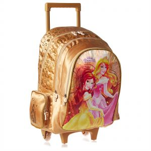 875715a1fa6c2 Disney Princess School Trolley Bag for Girls - Beige