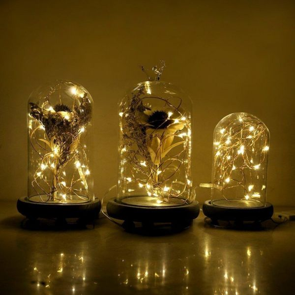 Innoolight 2m 20s Waterproof Warm White Battery Operated Fairy Lights Room Decor Party Wedding Decoration Child Rooms Night Light 4 Pack Souq Uae