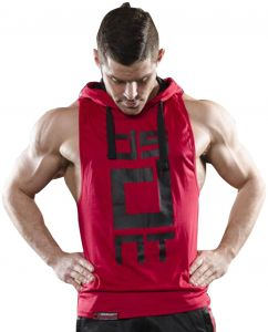 c0b24992c88c2 Mens Gym Stringer Tank Top Bodybuilding Athletic Workout Muscle Fitness  Vest Red L