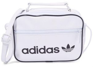 ADIDAS Mini Airliner Vintage Shoulder Bag White 61b5aeca80d5c