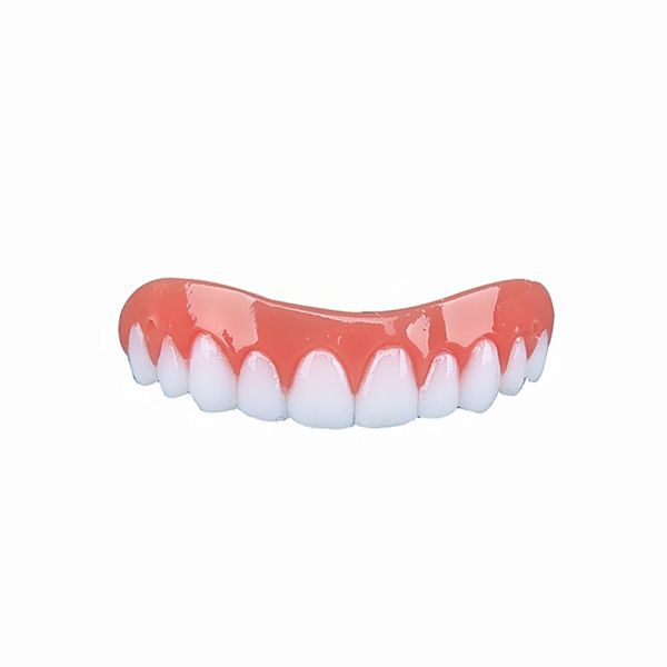 Cosmetic Teeth 1 Pack Perfect Smile Fit Flex Teeth Fits Most False Teeth Upper Cosmetic Fake Tooth Cover