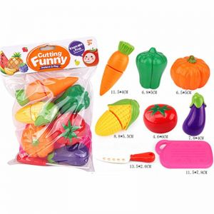 7225dfab0d8c2 Buy generic plastic cutting fruits and vegetables set pretend play ...