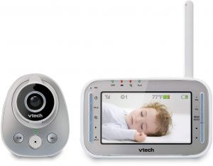 98efde4a426 VTech VM342 Video Baby Monitor with 170-Degree Wide-Angle Lens for  Panoramic View