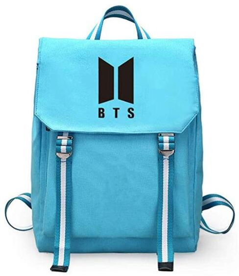 BTS Bangtan boys School student Bookbag backpack Travel Rucksack Fans Fits  up to 15.6 inch Laptop bag for women