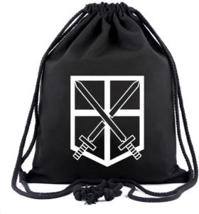 dffc074625aa Corps Canvas practical Tie Backpack Drawstring Bag student schoolbag