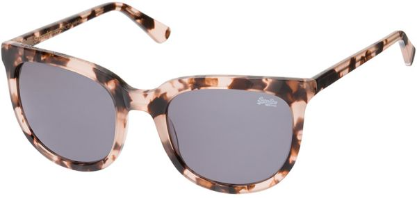 b15d2853be49 Superdry Unisex's Sunglasses -Gloss Pink Tort/Grey-SDPHOENIX-172-size  55-22-140mm