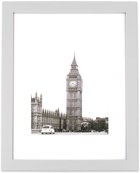 Home Traditions Z01740 Frame Mat for 8x10 Picture with Protective ...