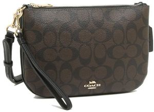 Coach shoulder bag Lady's COACH F29207 IMAA8 brown black