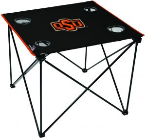 Rawlings NCAA Oklahoma State Cowboys Deluxe Tailgate (All Team Options)  Table, Red, X Large