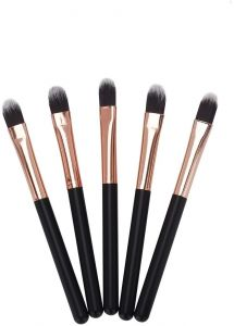 08ff5d1590 Miss Gorgeous Mini Eye Makeup Brushes (Soft Synthetic Hair) Eyebrow Eyeshadow  Brush - Concealer Blush Lip Makeup Brushes (5 Pcs Set)