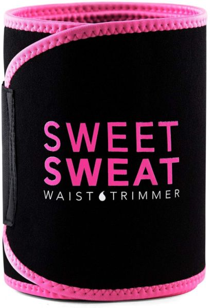 Sweet Sweat Sports Research Premium Waist Trimmer for Men & Women Includes Free Breathable Carrying Case for Body Shapering Tummy Control,Size XL