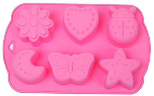 cd1e979088 VIQILANY Silicone Cupcake Mold Cookie Candy Cake Chocolate Baking Mould Pan  Tools