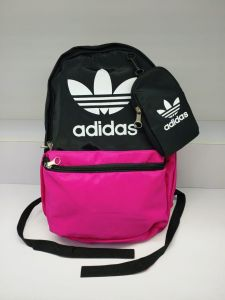 c75cbc99e8ae Adidas sports backpack and back bag with unisex bag Pink-Black of adidas
