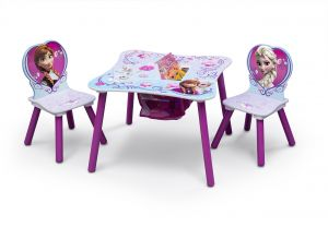 Amazing Delta Children Kids Chair Set And Table 2 Chairs Included Disney Frozen Evergreenethics Interior Chair Design Evergreenethicsorg