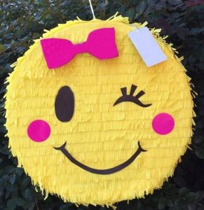 Emoji Birthday Party Pinata