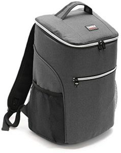 a84ccf0980d Insulated Backpack Cooler Bag Lunch Bag Waterproof Soft Lunch Ice Cooler  Backpack Large Capacity for Men Women Beach Hiking Picnic Fishing BBQ Cold  Beer ...