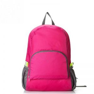 544f86706b95 Pink Men and Women Folding Backpack Traveling Bag Mountaineering Bag  Leisure Waterproof Backpack Large Capacity Travel Bag Climbing Hiking  Travel Portable ...