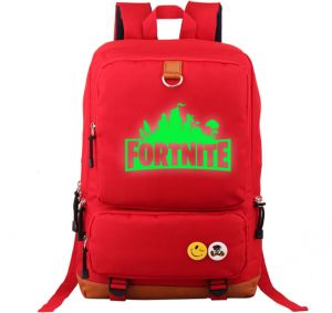 9224fe4da7ef Student School Bags Fortress Night Men Canvas Laptop Backpack Luminous  Shoulder Bags For Teenagers