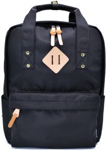 Women Backpack Fashion Waterproof Lightweight Large Capacity for College  School Business Travel Black 252e1381b1c2e