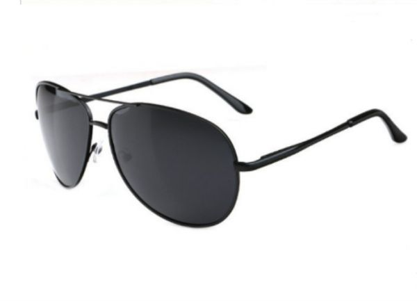 255e6fc02 Men Polarized anti UV400 Sunglasses Pilot Driver Sunglasses Eyewear-Black  color