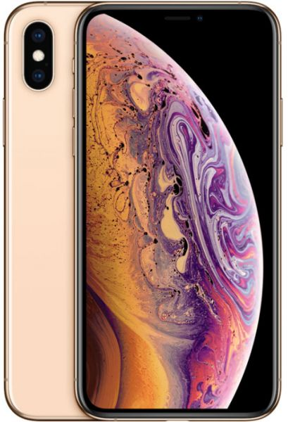 Apple Iphone XS With Facetime - 64 GB, 4G LTE, Gold, 4 GB Ram, Single Sim &  E-Sim