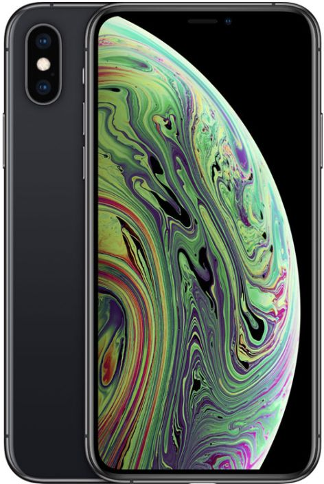 Apple iPhone Xs Without FaceTime - 256GB, 4G LTE, Space Gray