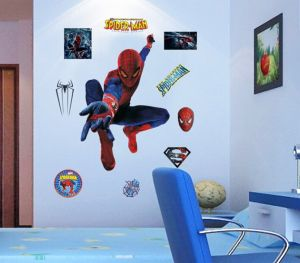 Ps4 Marvels Spider Man Wallpaper Ps4 Game Marvels Spiderman Wallpaper Living Room Bedroom Tv Background Wall Stickers 3d Marvel Spiderman Sticker