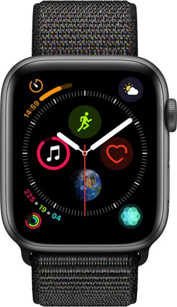 2- ساعة Apple Watch Series 4