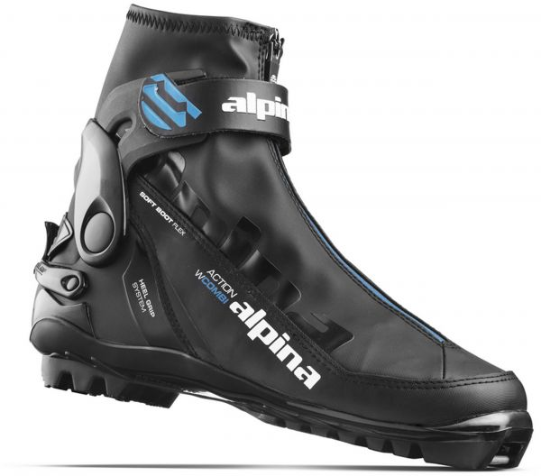 Alpina Sports Womens A Combi Eve Classic Cross Country Ski Boots - Alpina boots