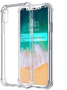 19e364b5ea5d6 IPhone XS Max Shockproof Case Cover Soft TPU Case Clear Hard Corner Cover  For Iphone XS Max - By Muzz