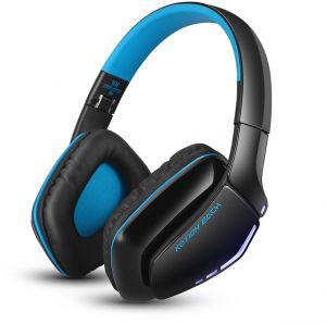 c6a799f5218 B3506 Wired Wireless Bluetooth 4.1 Professional Gaming Headphones - Blue  and Black