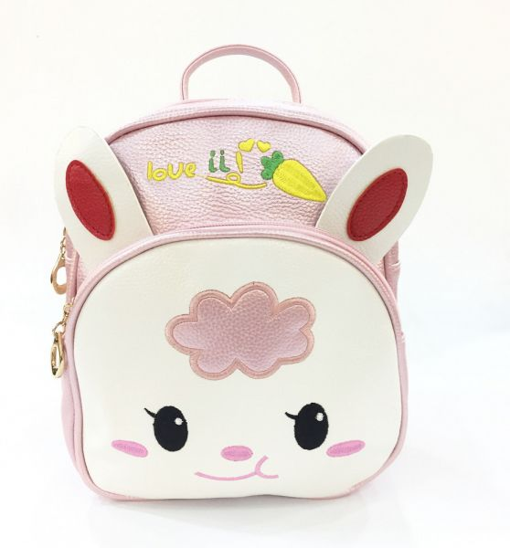 b2a06d7299bf Cat Girls PU Leather Mini Backpacks School Shoulder Bag pink