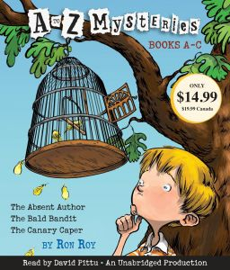 A to Z Mysteries: Books A-C Audio CD - Audiobook, Unabridged