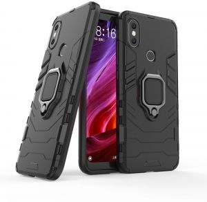 ac46efb5084 Xiaomi MI Max 3 Iron Man 2018 Protection Cover Case With Metal Ring    Magnetic Car holder