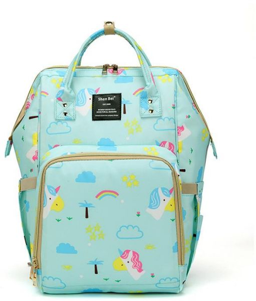 45b9d397ea Shen Bei Diaper bag Mummy Bag Baby Travel Backpack Bag Large ...