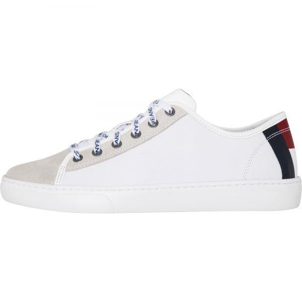 1ef6f2f68e0d8d Tommy Hilfiger White Fashion Sneakers For Men
