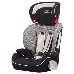 Evenflo Sutton 3 In 1 Booster Car Seat