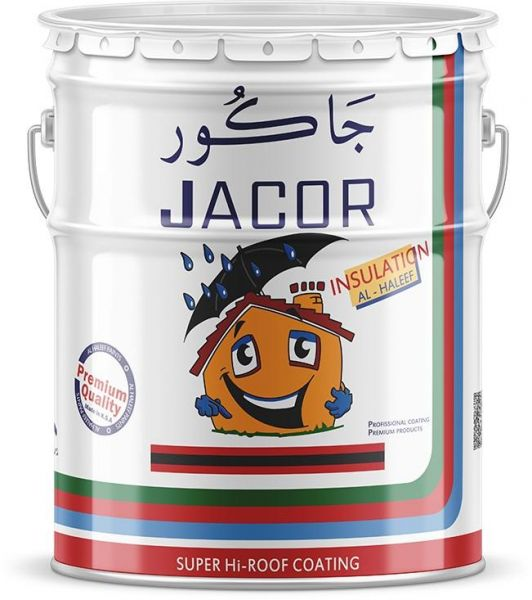 Jacor Rubber Roof-Coating insulation 18 Liters