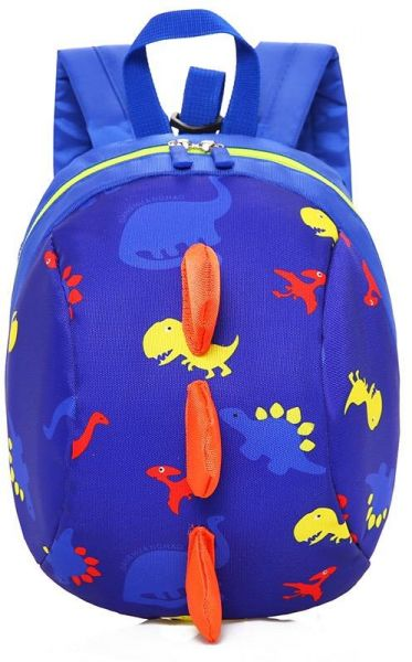 Souq Toddler Kids Backpack With Leash Cute Dinosaur Oman
