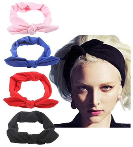 c4646a6a7875 4pcs Women s Headbands Headwraps Hair Bands Bows Accessories