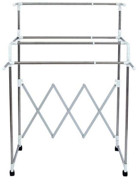 Adjustable Folding Clothes Hanger Clothing Hanging Drying Rack