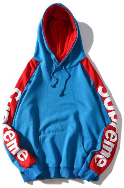 e44cd982fac6 Supreme Assorted Colors Logo on Sleeves Hoodie