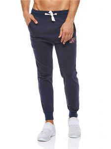 dd401126edc5 Cotton Fair Drawstring Fashion Joggers for Men - Navy