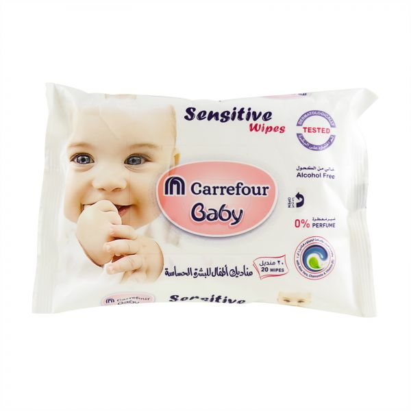 M Carrefour Baby Wipes Sensitive   Souq - UAE b37ea6a0990